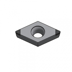 Worldia - DC Type Polycrystalline Diamond (PCD) Chip-breaker Insert - 55°
